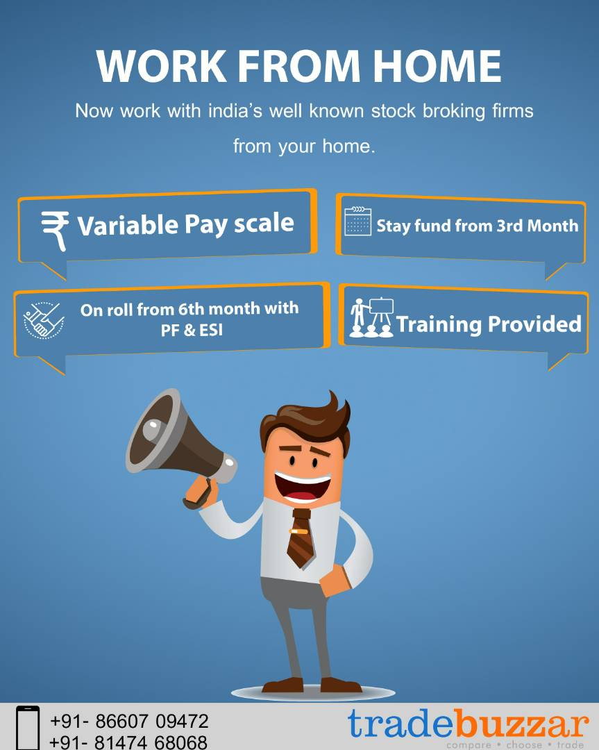work from home opportunities at tradebuzzar bangalore